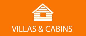 villas and cabins